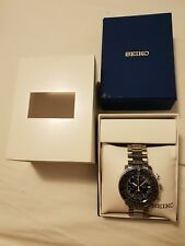 Seiko Flightmaster SNA411P1 Alarm Chronograph #7T62-0EB0 Quartz Men's Watch