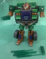 Transformers Energon Combat Demolishor with 4x Missiles Lot