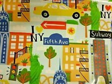 Fryetts New York Childrens Cotton Oilcloth WIPE CLEAN PVC TABLECLOTH