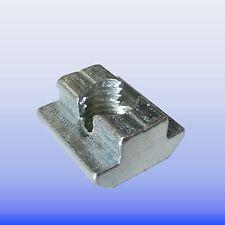 Nutenstein Schwer Nut 10 mit Gewinde M 8   Bosch Raster Aluminiumprofil T- Nut