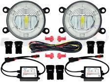 Peugeot LED DRL Front Fog Light Kit 207 307 407 3008 4007 5008 607 Coupe CC SW