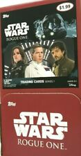 2017 TOPPS STAR WARS ROGUE ONE GRAVITY FEED BOX ( 36 PACKS )