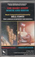 The Right Stuff and North and South by Bill Conti (Audio CASSETTE) Soundtrack