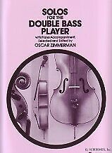 SOLOS FOR DOUBLE BASS PLAYER Zimmerman