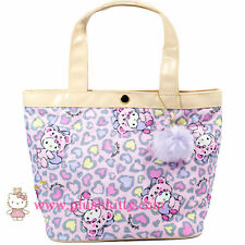 27850e23a4 Sanrio Hello Kitty Leopard Bear Lunch Tote Shoulder Bag Handbag from Japan