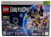 LEGO Dimensions Starter Pack  Microsoft Xbox 360  2015 New In Box