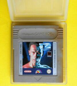 jeu jeux giochi nintendo game boy terminator 2 DMG TZ NOE arnold schwarzenegger