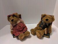 Vintage Teddy Bear Bookends Set