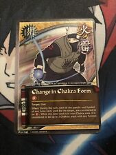 Naruto Cards CCG TCG Change in Chakra Form 619 UNCOMMON COMBINE SHIPPING