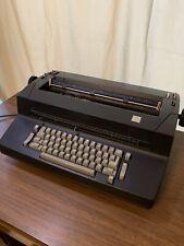 Ibm Selectric Ii Correcting Electric Typewriter Black Video Free Shipping