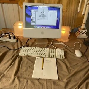 """Apple iMac 17"""" Intel Core Duo 1.83GHz 2GB 160GB HDD  Includes Keyboard And Mouse"""