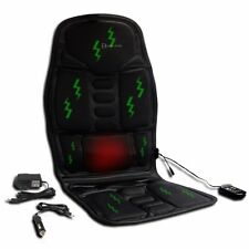 Zento Deals Vibrator Massage Seat Cushion W/ 12V Car Chair, Home & Office Plug