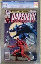 """Daredevil #158 (May 1979, Marvel) 7.0 FN/VF CGC (Frank Miller) """"KEY"""""""