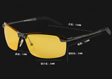 Day Night Vision Driving Glasses HD Polarized Sunglasses Outdoor Eyewear For him