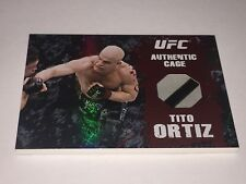 2010 TOPPS UFC AUTHENTIC TITO ORTIZ SP OCTAGON CAGE PIECE RELIC CARD VHTF