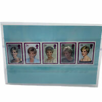 Vintage Princess Diana 26 Cent Stamp Royal Mail 1961-1997 Princess of Wales COA