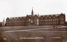 Blind School Leatherhead RP old pc used 1912  F W T & Co