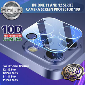 10D 9H Camera Lens For iPhone 12,11 Pro MAX Case Protector Tempered Glass Cover