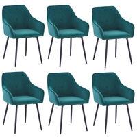 2er Set Samt Esszimmerstuhl Wohnzimmer Küchenstühle gepolstert Stuhl Büro stühle