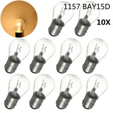 10x 1157 BAY15D 21/5W White Car Halogen Light Stop Brake Tail Turn Bulb Lamp 12V