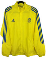 Adidas Climaproof 2013 Boston Marathon Yellow Jacket Men's L - Film Patriots Day