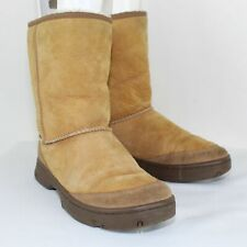 UGG AUSTRALIA Ladies Ultimate Short Brown Boots Size W8
