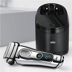 Afeitadora recortadora Inalambrica wet&dry Clean&Charge 9296cc Braun