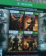 New Gears of War 1 2 3 Judgment all 4 full games Xbox One 360 digital code