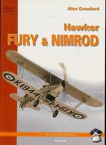 Hawker Fury & Nimrod - Orange Series (MMP Books) - New Copy