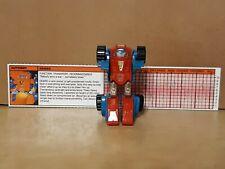 Transformers G1 Takara Action Figure! Vintage 1985 Hasbro Autobot Gears!
