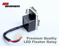 LED Turn Signal Flash Rate Relay For CBR 600 1000 RR R1 R6 Ninja 2 pins