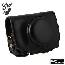 V84u Camera Leather Case Bag Grip strap for Canon PowerShot G9 x / G9X Mark II 2