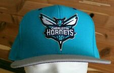 Charlotte Hornets Mitchell and Ness Fitted Hat Size 7¾ Quality Embroidered Cap