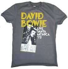 ViP AMPLIFIED DAVID BOWIE Live Santa Monica 1972 Rock Star Vintage T-Shirt g.XXL