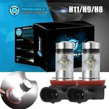New listing 2x H11 H8 H9 100W 10000Lm High Power Led Fog Light Driving Bulb Drl 6000K White