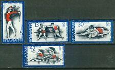 Bulgarien 3183 - 3186  , ** , Olympische Spiele 1984