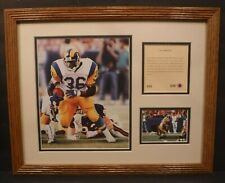 1994 Original Kelly Russell Studios Lithograph Of Jerome Bettis - Size & speed