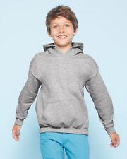Gildan Polyester Patternless Hoodies (2-16 Years) for Boys