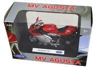 Welly Diecast Licenced 1:18 Scale Motorbike Model ~ MV Augusta F4S
