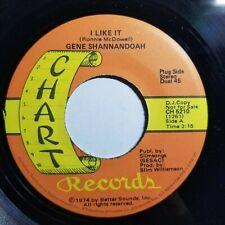 Gene Shannandoah 45Rpm Chart Records Label Error D.J. Copy Drinking and Thinking