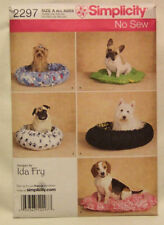Simplicity 2297  - Dog Beds  XS-M - NEW