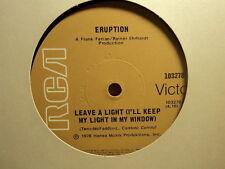"Eruption ""Leave A Light"" Great R&B Oz 7"""