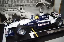 Fórmula 1 2001 williams f1 bmw fw23 r. schumacher 1:18 Hot Wheels nuevo & OVP 55697