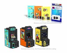 Stickers Lego Custom, Arcade Games 3, Instructions, city town simpsons Machine