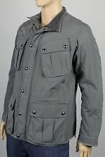 POLO Golf Ralph Lauren Large Grey Suede Coat Water Resistant Jacket NWT $495
