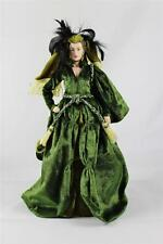 Bradford Exchange GLAMOROUS IN GREEN Visions of Glamour Gone w/the Wind Doll