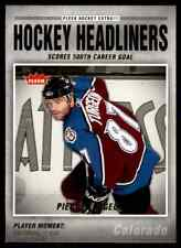 2006-07 Fleer Hockey Headliners Pierre Turgeon #HL12