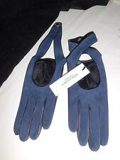 VERSACE Collection Gloves Gloves Nappa Blue $180,00