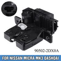 Portellone Bagagliaio Serratura Chiusura Per Nissan Qashqai Micra Mk3 Tiida