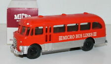 MICRO MODELS MM508 - BEDFORD SB BUS - MICRO BUS LINES - RED